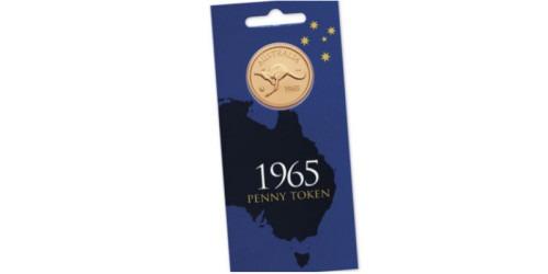 Монетовидный жетон – Пенни 1965