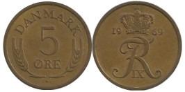 5 эре 1969 Дания