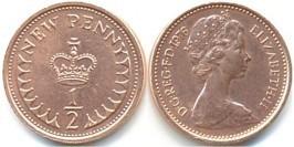 1/2 пенни 1976 Великобритания
