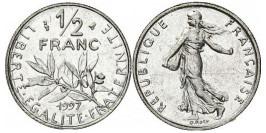 1/2 франка 1997 Франция