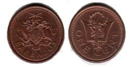 1 цент 1999 Барбадос