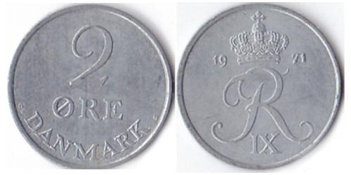 2 эре 1971 Дания