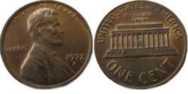 1 цент 1972 D США