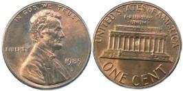 1 цент 1985 D США