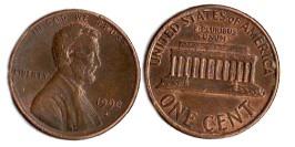 1 цент 1990 D США