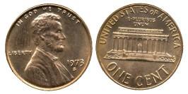 1 цент 1973 S США