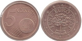 5 евроцентов 2011 Австрия