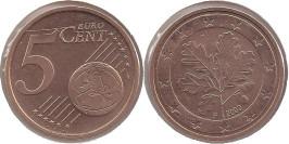 5 евроцентов 2002 «F» Германия