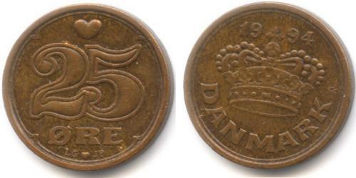25 эре 1994 Дания