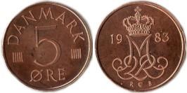 5 эре 1983 Дания