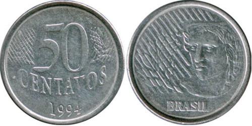 50 сентаво 1994 Бразилия