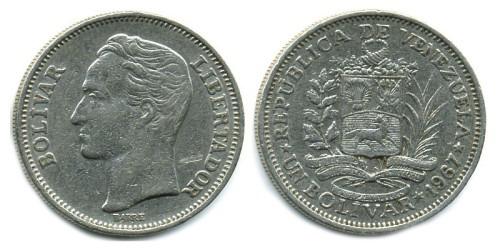 1 боливар 1967 Венесуэла