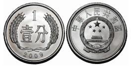 1 фэнь 2009 Китай