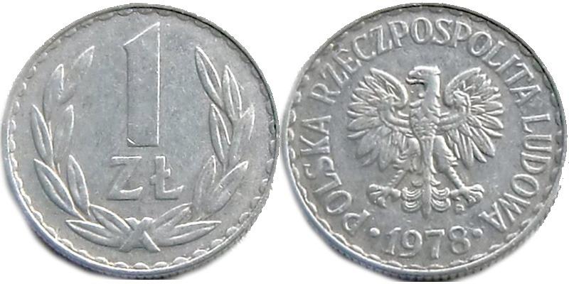 1злотый1978года стоимость монет россии 2016 года выпуска