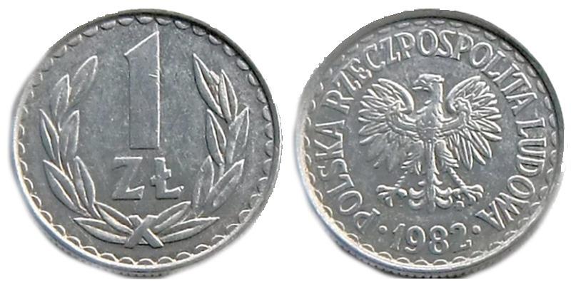 Монета 1 злотый 1992 г стоимость в украине 50 копеек 2005