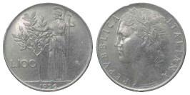 100 лир 1956 Италия