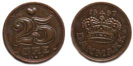 25 эре 1997 Дания