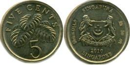 5 центов 2010 Сингапур