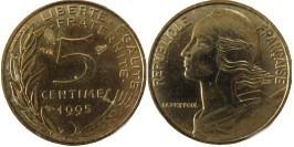 5 сантимов 1995 Франция