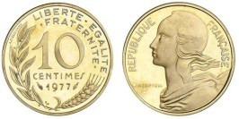 10 сантимов 1977 Франция
