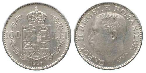 100 лей 1936 Румыния — редкая