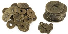 Сувенирные монеты — Китай — Удача