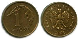 1 грош 1998 Польша