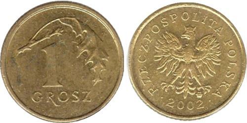 1 грош 2002 Польша