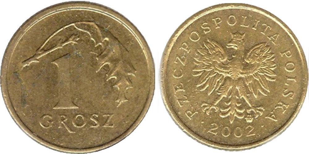 1 польский грош цена 1995 сколько стоит монета 1931 года