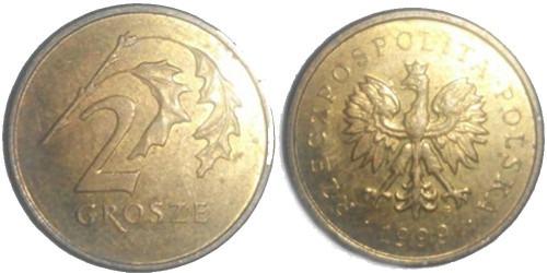 2 гроша 1999 Польша