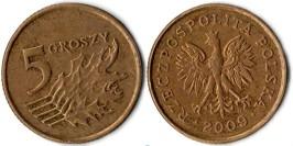 5 грошей 2009 Польша