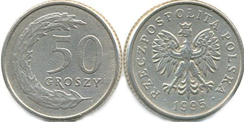 50 грошей 1995 Польша