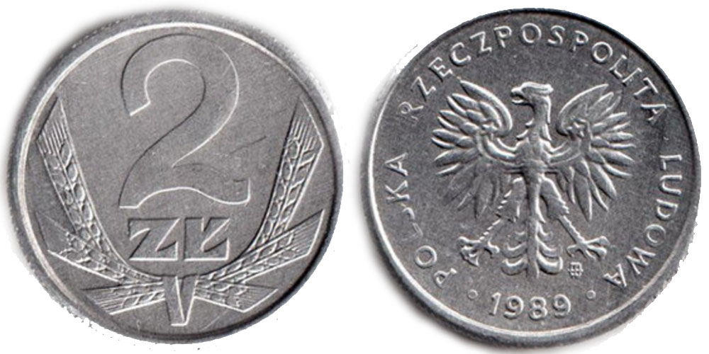 2злоте польша 1994 1 злотый 1949 года цена стоимость монеты