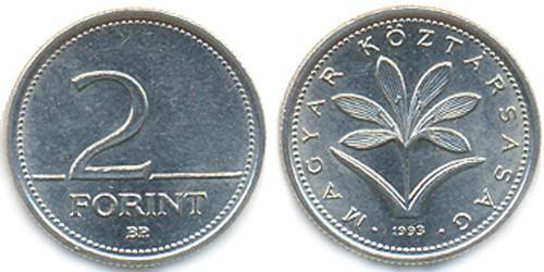 2 форинта 1993 Венгрия