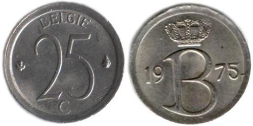 25 сантимов 1975 Бельгия (VL)