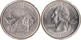 25 центов 2000 P США — Южная Каролина UNC