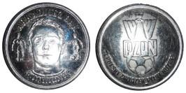 Монетовидный жетон — польский футбольный союз — Аркадиуш Бонк, атакующий полузащитник