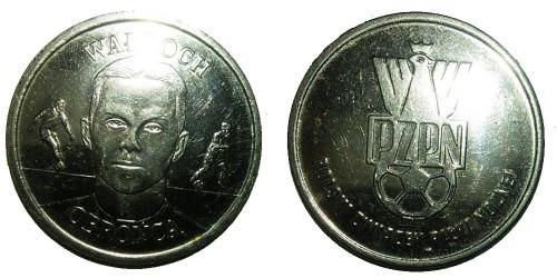 Монетовидный жетон — польский футбольный союз — Томаш Валдох, защитник