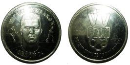Монетовидный жетон — польский футбольный союз — Михал Жевлаков, защитник