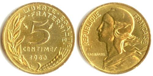 10 сантимов 1980 Франция