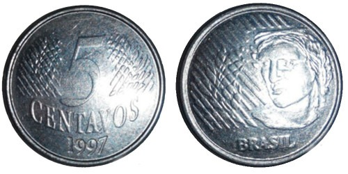 5 сентаво 1997 Бразилия