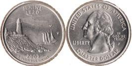 25 центов 2003 P США — Мэн