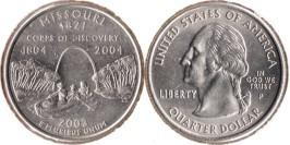 25 центов 2003 P США — Миссури UNC