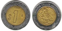 1 песо 2013 Мексика