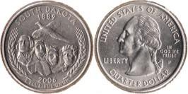 25 центов 2006 P США — Южная Дакота