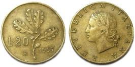 20 лир 1957 Италия