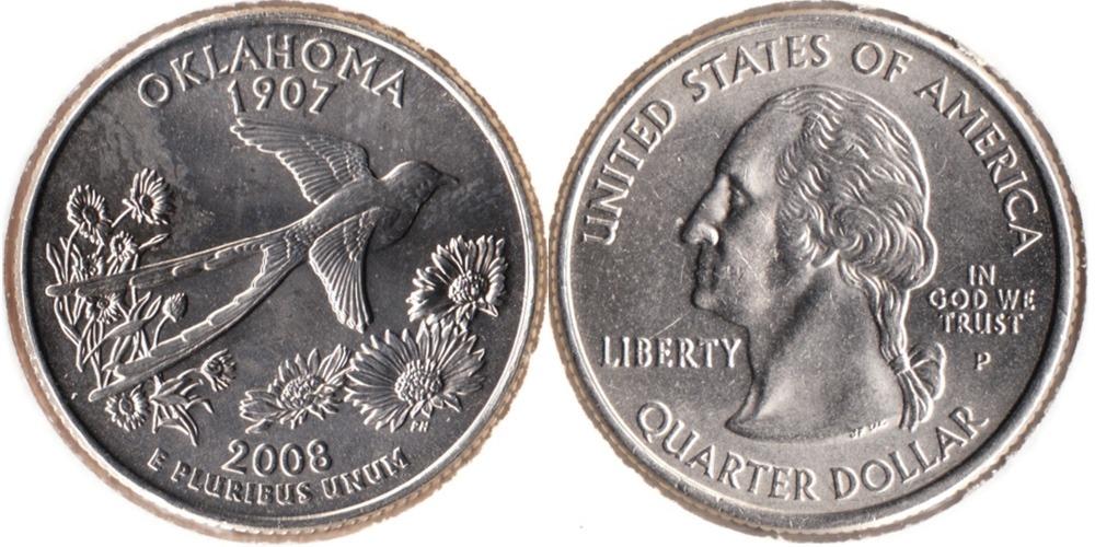 Монеты сша 2008 10 копеек 91 года