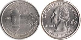 25 центов 2009 P США — Пуэрто-Рико