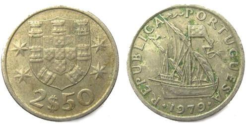 2.5 эскудо 1979 Португалия