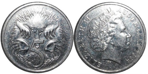 5 центов 2004 Австралия
